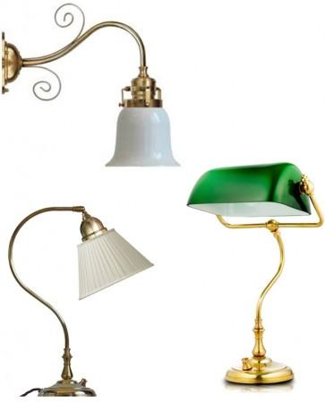 Bordlamper og vegglamper